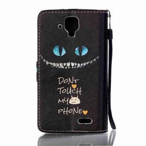 Emotive pouzdro na mobil Lenovo A536 - varování - 2