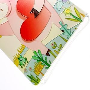 Softy gelový obal na mobil Lenovo A7000 / K3 Note - zamilované prasátko - 2