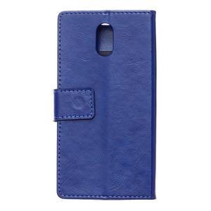 GX koženkové peněženkové na mobil Lenovo Vibe P1m - modré - 2