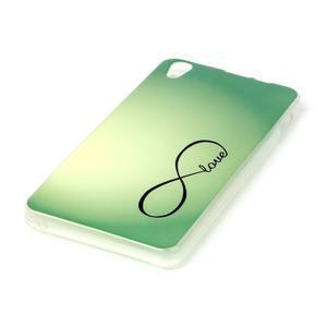 Softy gelový obal na mobil Lenovo S850 - love - 2
