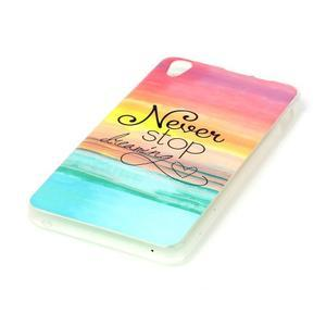 Softy gelový obal na mobil Lenovo S850 - nepřestávej snít - 2