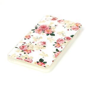 Softy gelový obal na mobil Lenovo S850 - květiny - 2
