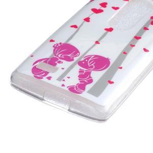 Jelly gelový obal na mobil LG Leon - láska - 2