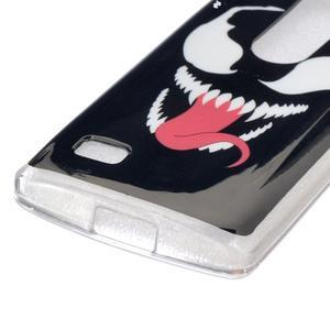 Jelly gelový obal na mobil LG Leon - monster - 2