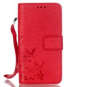 Magicfly pouzdro na mobil LG Leon - červené - 2