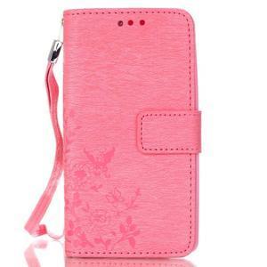 Magicfly pouzdro na mobil LG Leon - rose - 2