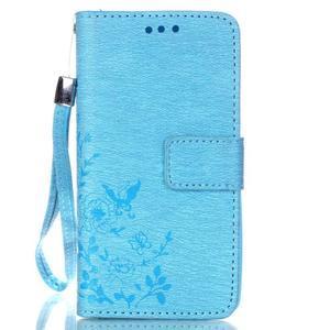 Magicfly pouzdro na mobil LG Leon - modré - 2