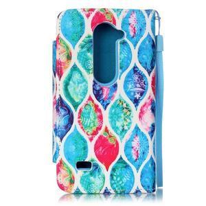 Royal pouzdro na mobil s magnetickou sponou na LG Leon - colorid - 2