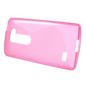 S-line gelový obal na mobil LG Leon - rose - 2