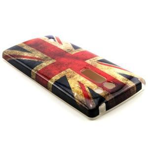 Gelový kryt na mobil LG Spirit - UK vlajka - 2