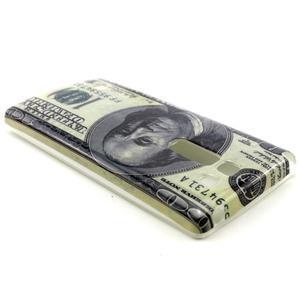 Gelový kryt na mobil LG Spirit - bankovka - 2