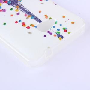 Softy gelový obal na mobil Microsoft Lumia 640 LTE - Eiffelova věž - 2