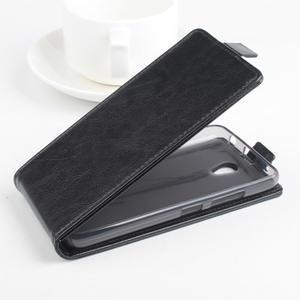 Flipové pouzdro na mobil Lenovo A5000 - černé - 2
