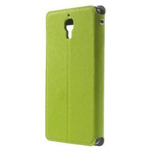 Root pouzdro s okýnkem pro Xiaomi Mi4 - zelené - 2