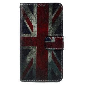 Cross peněženkové pouzdro na Xiaomi Mi4 - UK vlajka - 2