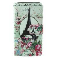 Cross peněženkové pouzdro na Xiaomi Mi4 - Eiffelova věž - 2/7