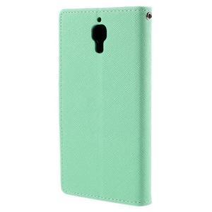 Mr. Fancy peněženkové pouzdro na Xiaomi Mi4 - azurové - 2