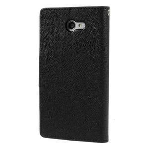 Mr. Goos peněženkové pouzdro na Sony Xperia M2 - černé - 2