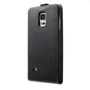 Flipové pouzdro pro Samsugn Galaxy Note 4 - černé - 2