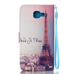 Pictu pouzdro na mobil Samsung Galaxy A3 (2016) - Eiffelova věž - 2