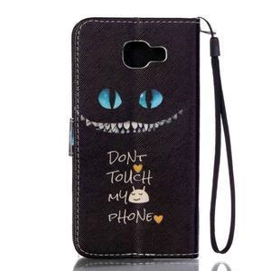 Pictu pouzdro na mobil Samsung Galaxy A3 (2016) - nedotýkat se - 2