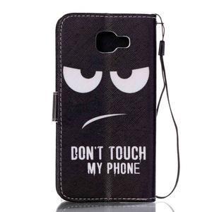 Pictu pouzdro na mobil Samsung Galaxy A3 (2016) - nešahat - 2