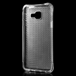 Diamonds gelový obal na Samsung Galaxy A3 (2016) - transparentní - 2