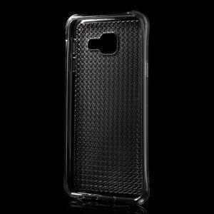 Diamonds gelový obal na Samsung Galaxy A3 (2016) - šedý - 2