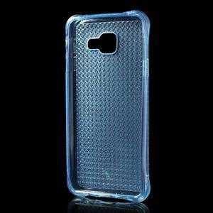Diamonds gelový obal na Samsung Galaxy A3 (2016) - modrý - 2