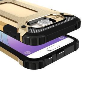 Extreme outdoor kryt 2v1 na mobil Samsung Galaxy A3 (2016) - zlatý - 2