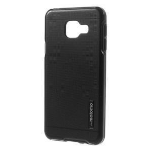 Odolný ochranný obal 2v1 na mobil Samsung Galaxy A3 (2016) - černý - 2