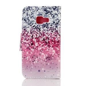 Rich PU kožené pouzdro na mobil Samsung Galaxy A3 (2016) - gradient - 2