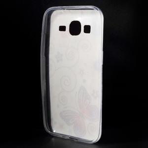 Ultratenký slim obal na Samsung Galaxy Core Prime - motýlek - 2