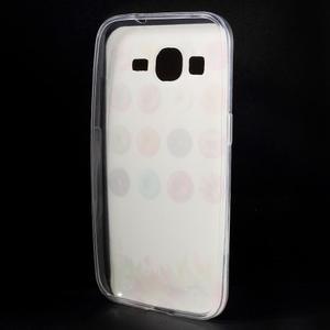 Ultratenký slim obal na Samsung Galaxy Core Prime - donuts - 2