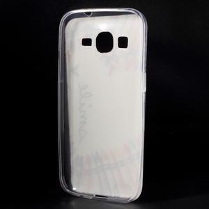 Ultratenký slim obal na Samsung Galaxy Core Prime - smile - 2