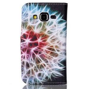 Emotive peněženkové pouzdro na Samsung Galaxy Core Prime - barevná pampeliška - 2