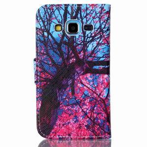 Emotive peněženkové pouzdro na Samsung Galaxy Core Prime - strom - 2