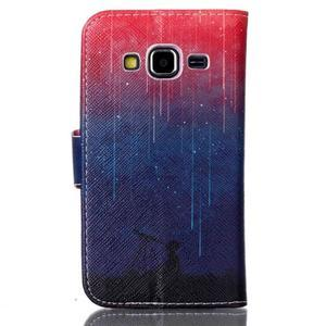 Emotive peněženkové pouzdro na Samsung Galaxy Core Prime - meteor - 2