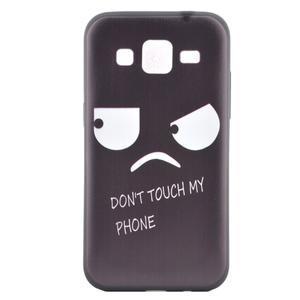 Hardy gelový obal na mobil Samsung Galaxy Core Prime - nešahat - 2