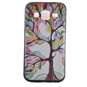 Hardy gelový obal na mobil Samsung Galaxy Core Prime - malovaný strom - 2