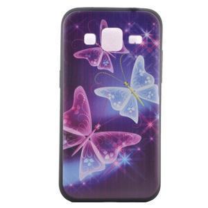 Hardy gelový obal na mobil Samsung Galaxy Core Prime - kouzelní motýlci - 2