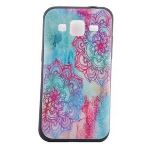 Hardy gelový obal na mobil Samsung Galaxy Core Prime - henna - 2