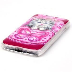 Softy gelový obal Samsung Galaxy Core Prime - koťátko - 2