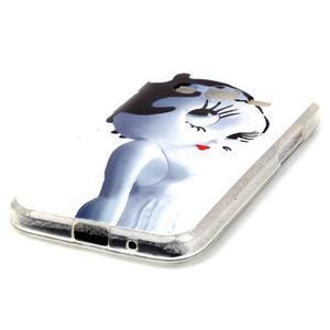 Softy gelový obal Samsung Galaxy Core Prime - kočička - 2