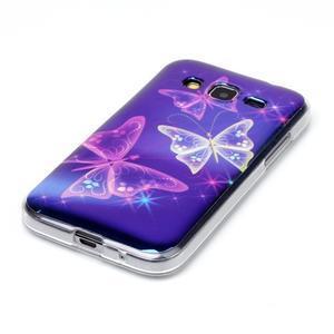 Bluray gelový obal s odlesky na Samsung Galaxy Core Prime - kouzelní motýlci - 2