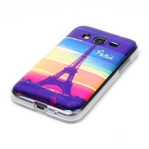 Bluray gelový obal s odlesky na Samsung Galaxy Core Prime - Eiffelova věž - 2