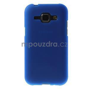 Modrý matný kryt na Samsung Galaxy J1 - 2