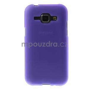 Fialový matný kryt na Samsung Galaxy J1 - 2
