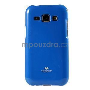 Modrý gelový obal na Samsung Galaxy J1 - 2