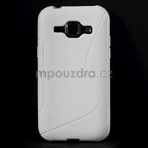 Bílý gelový s-line obal Samsung Galaxy J1 - 2